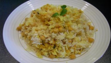 Cholay Biryani