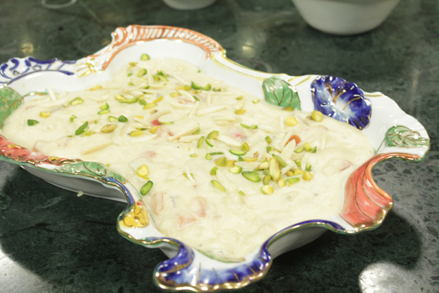 Mix Fruit Kheer Recipe by Chef Zakir