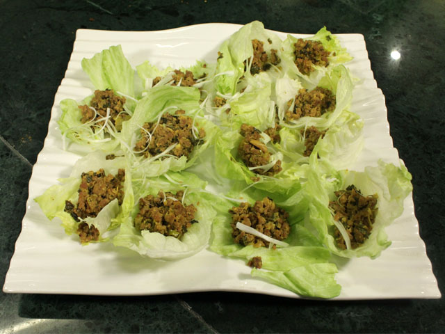 Mutton In Lettuce Cup Recipe by Chef Zakir