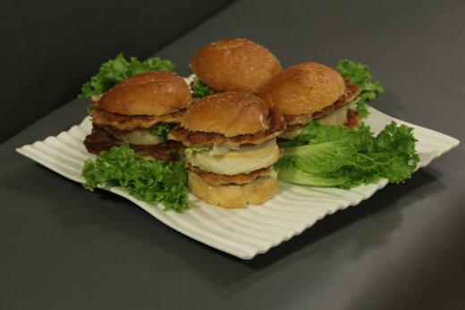 Double decker fish burger recipe by gulzar hussain for Fish burger recipe