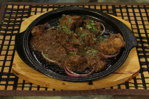 Mutton Sizzler Recipe by Gulzar Hussain