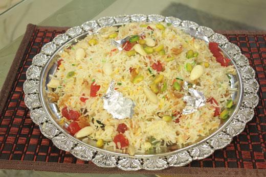Sehrangi Zarda Recipe by Gulzar Hussain
