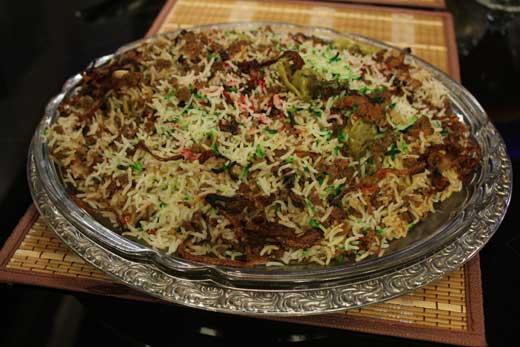 Rangeen Biryani Recipe by Gulzar Hussain