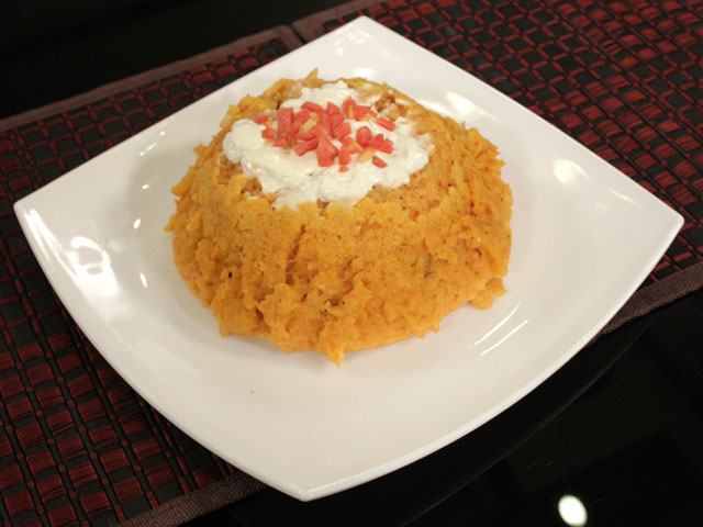 Carrot Pudding Recipe by Gulzar Hussain