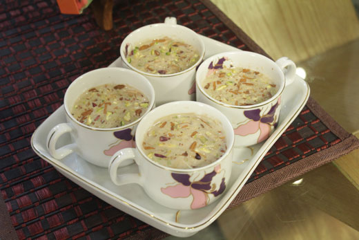 Kashmiri Tea Recipe by Gulzar Hussain