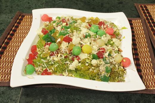 Sath Rung Ka Zarda Recipe by Rida Aftab