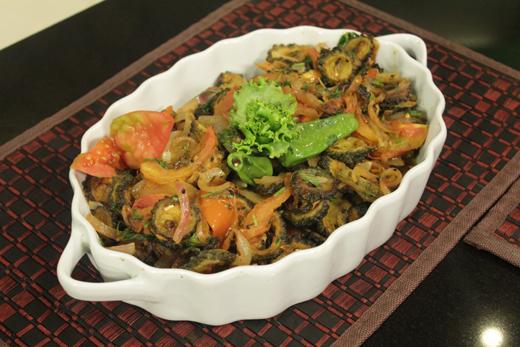 Punjabi Style Karela Recipe by Rida Aftab