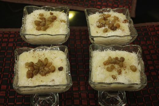 Coconut Rice Pudding Recipe by Rida Aftab