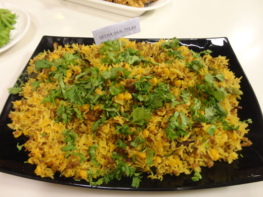 Qeema Daal Pulao Recipe by Rida Aftab