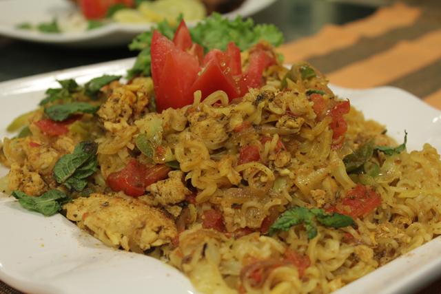 Chicki Vegi Biryani Recipe by Rida Aftab