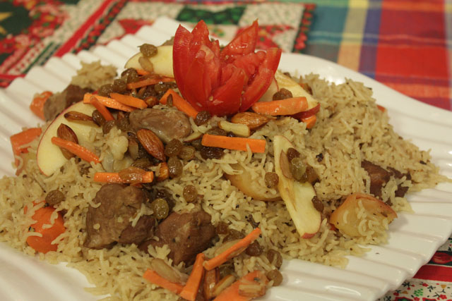 Kashmiri Pulao Recipe by Rida Aftab