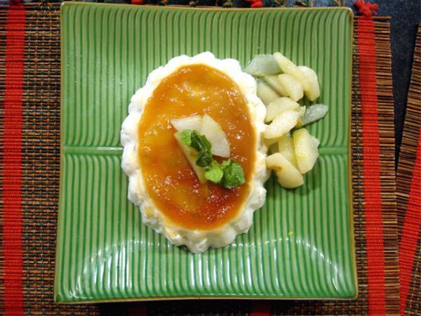 Russian Pear Pudding Recipe by Rida Aftab