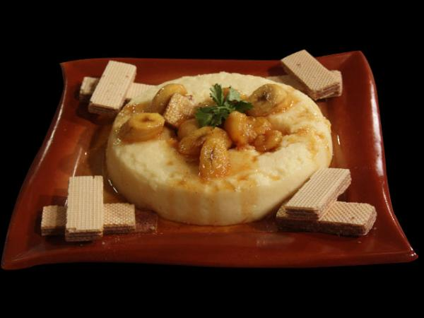 Banana Pudding With Vanilla Crumbled Wafer Recipe by Rida Aftab