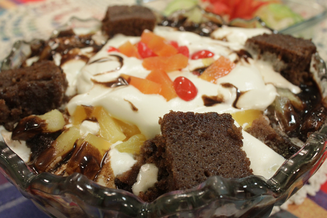 Chocolate caramel trifle recipe by rida aftab recipes in urdu click ccuart Image collections