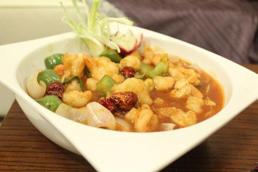 Kongpao Prawns Recipe by Shireen Anwar