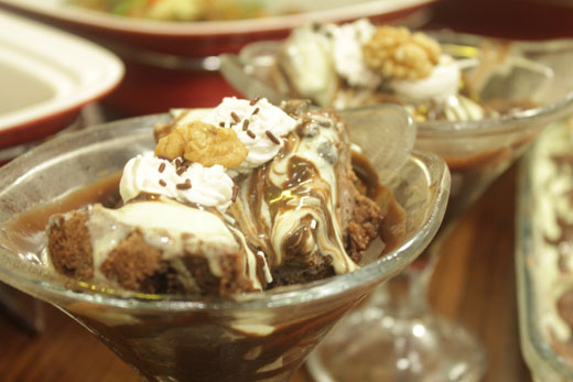 Brownie Mint Sundae Squares Recipe by Shireen Anwar