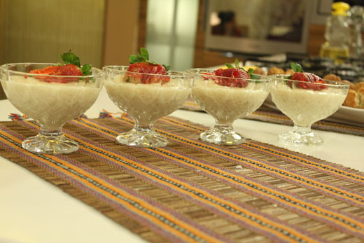 Tapioca Pudding Recipe by Shireen Anwar