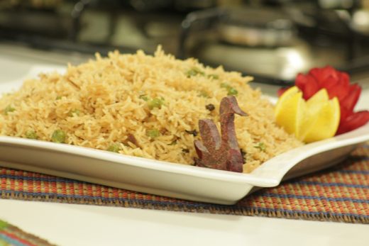 Chola Pulao Recipe by Shireen Anwar