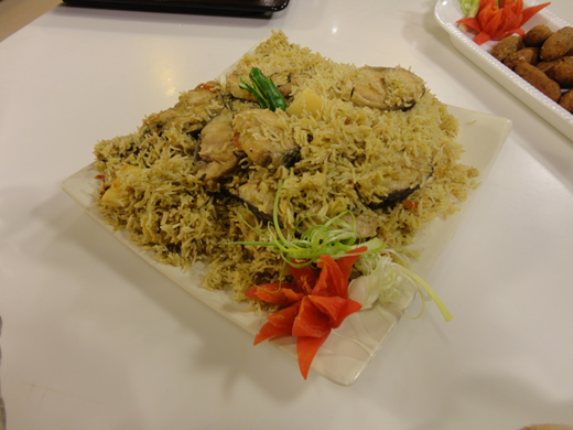 Memni Mahi Pulao Recipe by Shireen Anwar