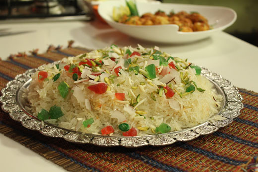 Kashmiri Metha Pulao Recipe by Shireen Anwar