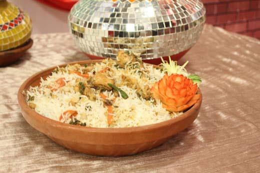 Peshawri Chana Biryani Recipe by Shireen Anwar