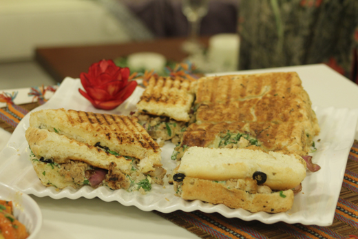 Grilled Chicken Panini Sandwich Recipe By Shireen Anwar
