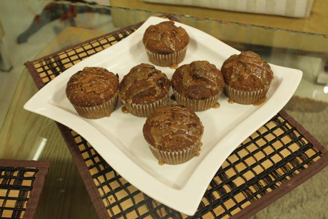 Jumbo Ceramal Banana Muffins Recipe by Shireen Anwar