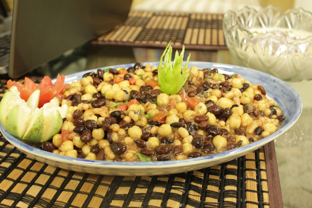 Three Beans Chat Recipe by Shireen Anwar