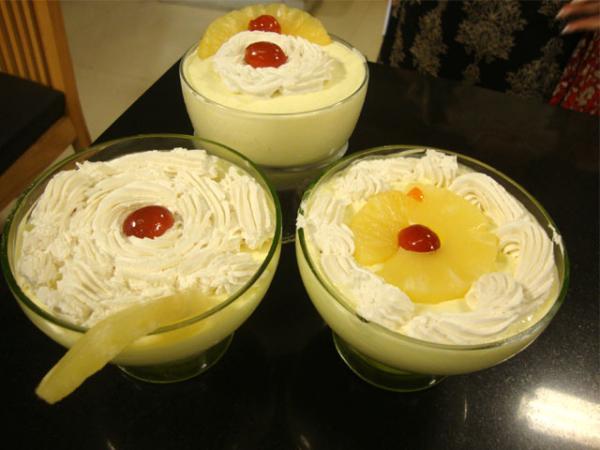 Ice Cream Souffle Recipe by Shireen Anwar