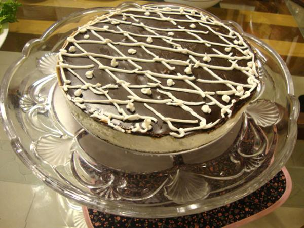Chocolate Cheese Cake Recipe by Shireen Anwar