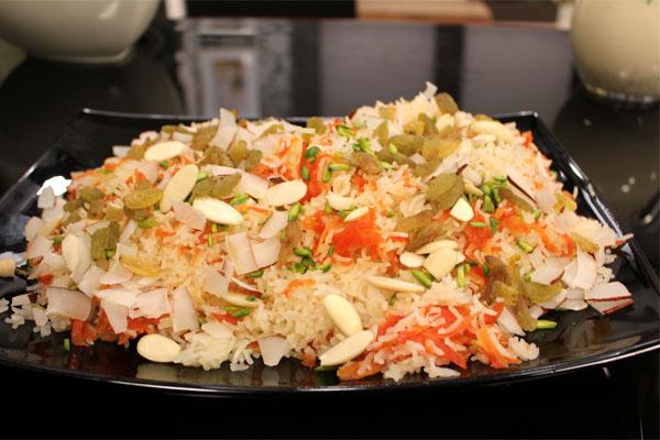 Punjabi Gajar Ka Zarda Recipe by Shireen Anwar