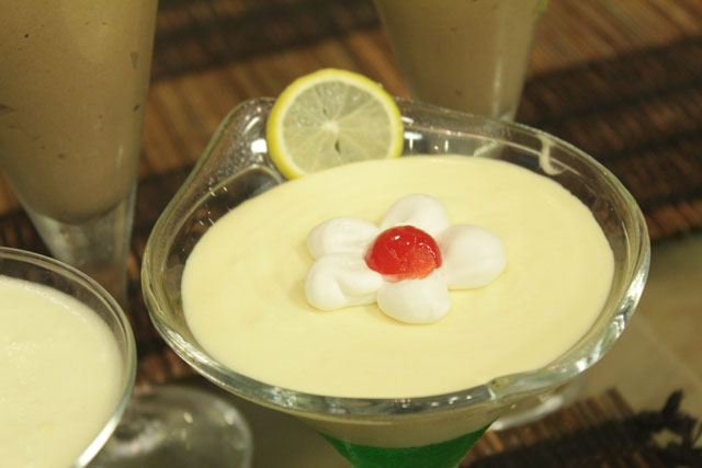 Pineapple Mousse Recipe by Shireen Anwar