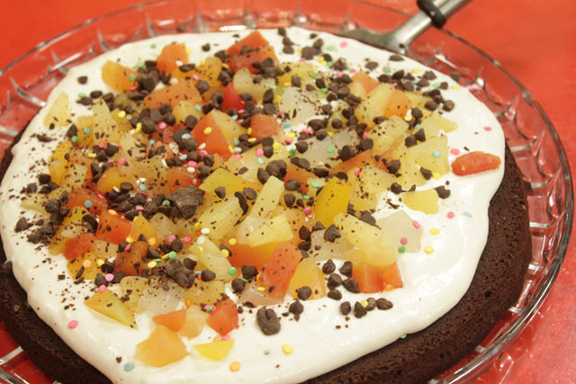 Brownie Pizza Recipe by Shireen Anwar