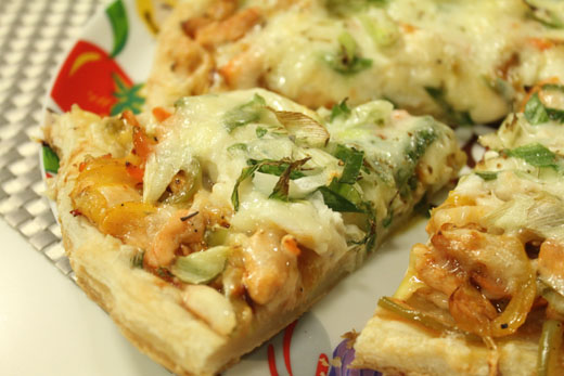 Puff Pastry Base Pizza Recipe by Shireen Anwar