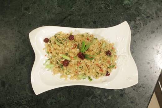 Sezechuan Stir Fried Rice Recipe by Tahir Chaudhary