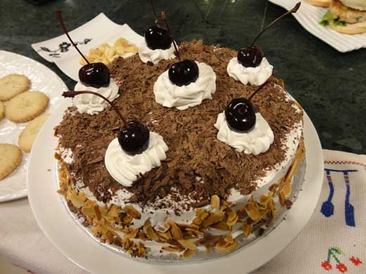 Black Forest Cake Recipe by Zarnak Sidhwa