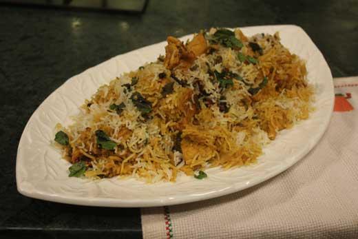 Chicken Biryani Recipe by Zarnak Sidhwa