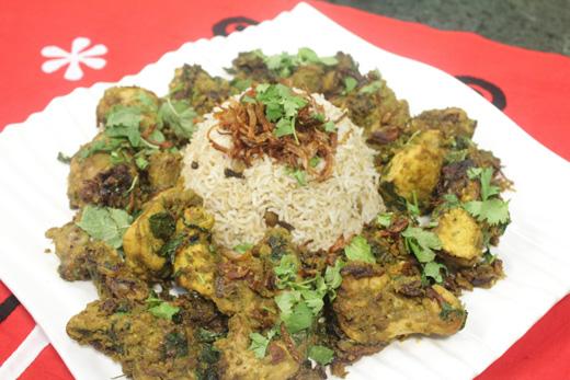 Healthy Chicken Biryani Recipe by Zarnak Sidhwa