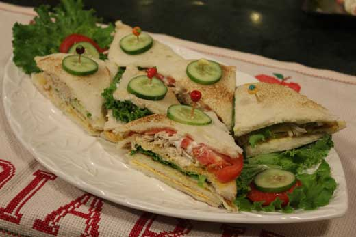 Club Sandwiches Recipe By Zarnak Sidhwa