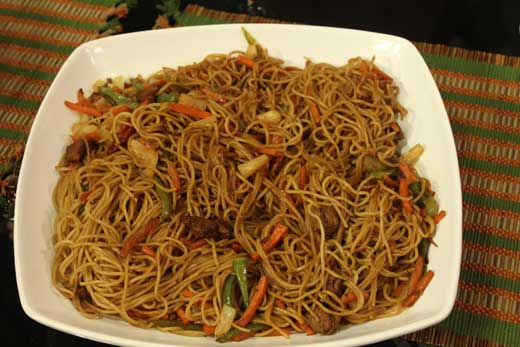 Sweet And Sour Beef Chowmein Recipe By Zubaida Tariq Recipes In