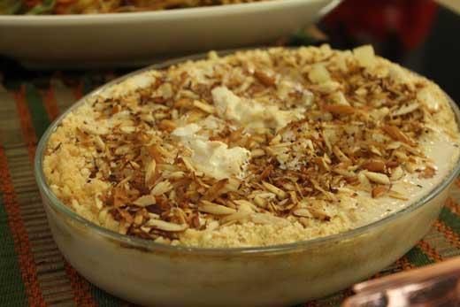 Apple Bread Pudding Recipe by Zubaida Tariq