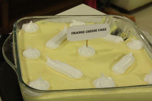 Freezer Cake Recipe In Urdu: Orange Cheese Cake Recipe By Zubaida Tariq