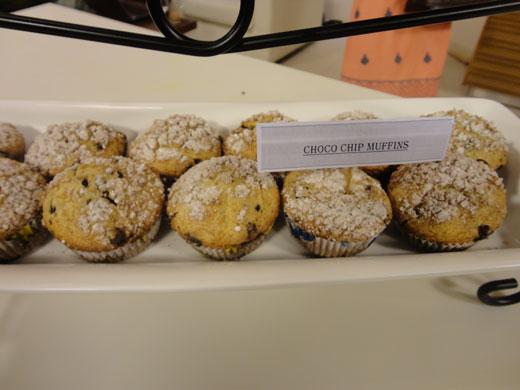 Chocó Chip Muffins Recipe by Zubaida Tariq