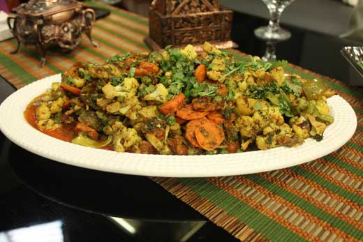 Vegetable Karahi Recipe by Zubaida Tariq