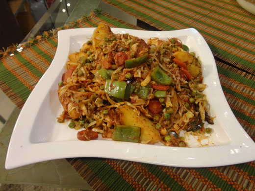 Vegetable Jalfrezi Recipe By Zubaida Tariq Cook With Hamariweb Com