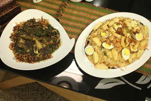 Vegetable And Egg Pulao Recipe by Zubaida Tariq