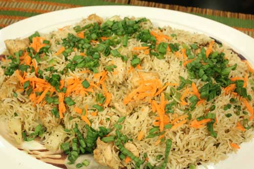 Pineapple Fried Rice recipe by Zubaida Tariq. This delightful recipe of Pineapple Fried Rice can be ready in Minutes and good to serve around People. Follow all the steps recommended by Chef to get a perfect dish.