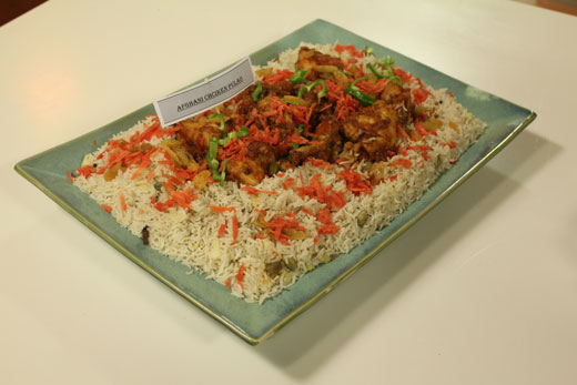 Afghani Chicken Pulao Recipe by Zubaida Tariq