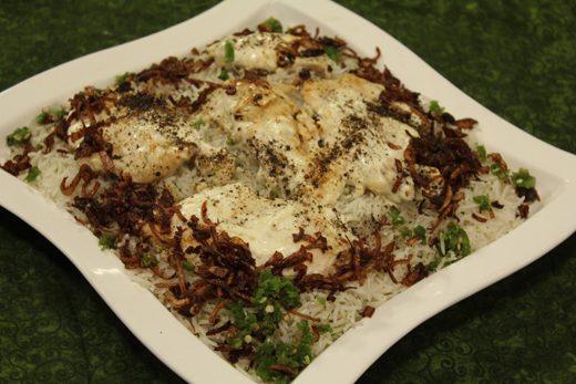 Creamy Pasanday With Rice Recipe by Zubaida Tariq