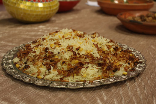 Qabooli Pulao Recipe by Zubaida Tariq